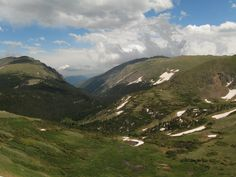 Rocky Mountain National Park: Trail Ridge Road