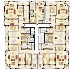 Illusion Drawings, Architectural Floor Plans, Plans Architecture, High Rise Building, Site Plans, Terraria, Best House Plans, Civil Engineering, Building Plans