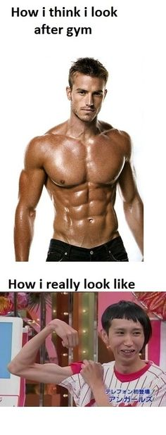 How I think I look after gym...