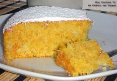 Hoy Cocinas Tú Pumpkin Recipes, Fall Recipes, Sweet Recipes, Coconut Recipes, Piece Of Cakes, Sweet Cakes, Sin Gluten, Love Food, Cupcake Cakes