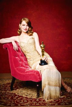 Emma Stone photographed during the 89th Annual Academy Awards at Hollywood & Highland Center on February 26, 2017 in Hollywood, California.