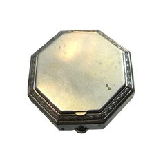 Art Deco Larzell Vintage Powder Octagonal Compact by openslate
