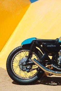 caferacerbursa:Bane – Jules' CB500 Four Cafe Racer #motorcycles #caferacer #motos   caferacerpasion.com