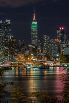 Empire State Building at night - New York City, USA by helen