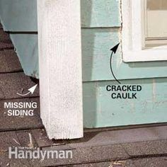 Water that sneaks behind walls and dormers dribbles down into your house just like a roof leak. Here's how to fix the problem.