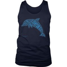 Dolphin District Men's Tank
