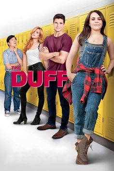 Bianca's (Mae Whitman) universe turns upside down when she learns that her high school refers to her as a 'DUFF' (Designated Ugly Fat Friend). Hoping to erase that label, she enlists the help of a charming jock (Robbie Amell) and her favorite teacher (Ken Jeong). Together they'll face the school's mean girl (Bella Thorne) and remind everyone that we are all someone's DUFF... and that's totally fine. (2015)