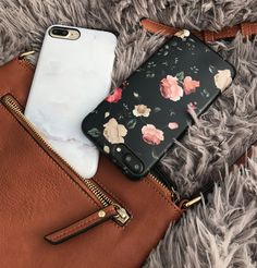 That Friday feeling Ivory White & Dark Rose Case for iPhone 7 & iPhone 7 Plus from Elemental Cases