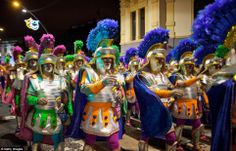 The Carnival of Santa Cruz de Tenerife brings thousands of revellers every year. It is the closest European equivalent to the Brazilian Carnival in Rio de Janeiro.