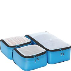 eBags Ultralight Packing Cubes - Small 3pc Set - eBags.com