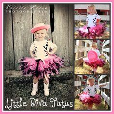 Love it!! Custom Cowgirl Tutu and Rhinestone Vest Tshirt  by LittleDivaTutus, $59.99