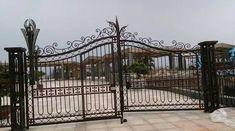 Beautiful Driveway gates, Wrought Iron Gates, custom driveway gate, metal gates, decor, entrance, contemporary gates, wood automated gates, ranch gates, farm gates, gate design ideas