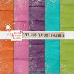 Feb. 2015 Featured Designer Freebie {two}