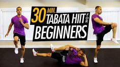 This tabata workout goes back to the basics. 50 different exercises performed tabata-style. These moves are ideal for beginners, or for those wanting a bit more of a challenge, take it up to high-impact, high intensity.  This is a great way to ease yourself into HIIT training.