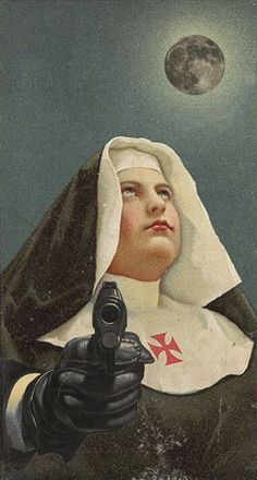 Nun with a Gun | Julia Lillard