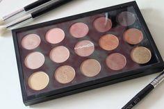 MAC Eye Shadow x15: Warm Neutral Palette // Review