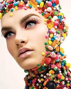 The Campbell Agency: hmu – girl photoshoot Costume Bonbon, Creative Photography, Fashion Photography, People Photography, Makeup Art, Hair Makeup, Candy Makeup, Candy Shop, Creative Makeup