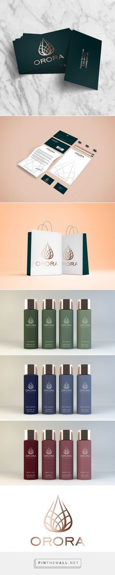 ORORA Luxury Cosmetic Branding and Packaging by Afroditi Kalpyri | Fivestar Branding Agency – Design and Branding Agency & Curated Inspiration Gallery