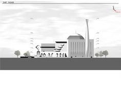 Central Mosque, Studio, Planer, New York Skyline, Dubai, Competition, Exterior, How To Plan, Project Proposal