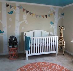 Bring nature to the nursery with easy, gorgeous decals | #BabyCenterBlog #ProjectNursery