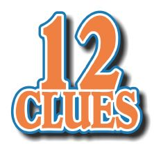 12-Clues: 12 Clues for Guessing Who's Who in the Bible: A Fun Bible Activity for Kids