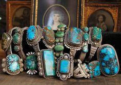 Jewelry by Greg Thorne.