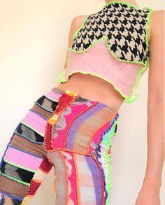 Look Fashion, Diy Fashion, Ideias Fashion, Fashion Outfits, Street Fashion, Womens Fashion, Fashion Design, Fashion Trends, Ropa Upcycling