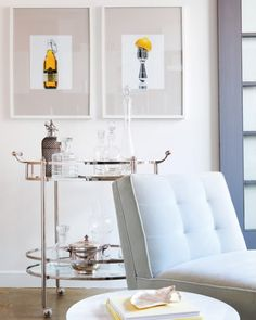 Dreamy Spaces: Roll Out the Bar Carts