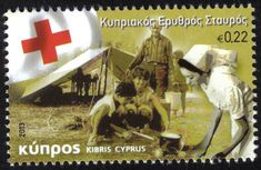 """Cyprus Stamps SG 2013  """"The Cyprus Red Cross"""" - MINT"""