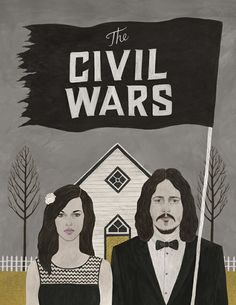 The Civil Wars - love them and this illustration!