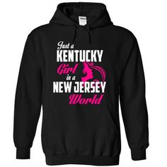 KENTUCKY-NEW JERSEY girl 05Pink - #gift ideas for him #gift for dad. LIMITED AVAILABILITY => https://www.sunfrog.com/States/KENTUCKY-2DNEW-JERSEY-girl-05Pink-Black-Hoodie.html?68278