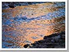 Creek Reflections, Harris Wash, Utah