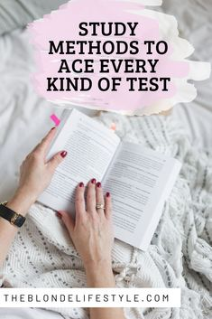 Having a hard time cracking down on a specific test or school subject? Here are a few study methods to ace every kind of test you may come across such as multiple choice tests, essays, short answer questions, and more. Best Study Methods, Best Study Tips, Good Study Habits, Life Hacks For School, School Study Tips, School Tips, Best Time To Study, Study Hard, How To Study