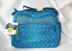 NEW Lug Ocean Blue #Shimmy Cross Body Messenger Bag Purse  #Lug #TheSmartShoppe