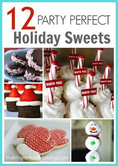 12 Party Perfect Sweets and Treats Recipes