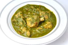 SPINACH (PALAK) CHICKEN CURRY- A HEALTHY INDIAN DINNER IN 40 MINS