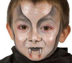 Trucco di Halloween per bambini: versione n.3 del vampiro
