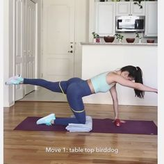 Low impact HIIT workout 👙✨ by @homebodysculpt