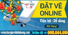 Đặt vé máy bay Tết đi Thành Phố Hồ Chí Minh tại Bến Cát Bình Dương giá rẻ