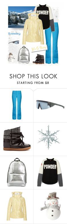 """""""Powdery Snow"""" by shoptillyadrop ❤ liked on Polyvore featuring Fendi, Mykita, Isabel Marant, 3.1 Phillip Lim, Perfect Moment and White Label"""