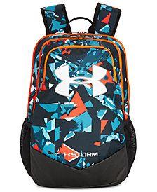 Under Armour Little & Big Boys Scrimmage Backpack - Deceit Black Boys Backpacks, Backpacks For Sale, School Backpacks, Under Armour Backpack, High Quality Backpacks, Back To School Bags, Nike Bags, Backpack Reviews, Backpack For Teens