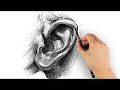 How to Draw Ears - Step by Step, -tutorial Step by Step with thanks to proko, How to draw Face, Resources for Art Students , CAPI ::: Create Art Portfolio Ideas at milliande.com, Art School Portfolio Work