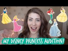 My Disney Princess Audition Experience! - YouTube. Just in case you share my dream..You know the dream...Be A Disney Princess!
