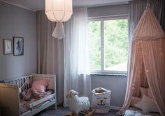 Så fixar du gardinerna! – Frida Fahrman Kids Room, Toddler Bed, Curtains, Bedroom, Interior, House, Furniture, Home Decor, Decorating