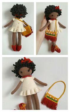 Amigurumi Doll Free Pattern —Amigurumi doll crochet free pattern Free Crochet, Crochet Hats, Amigurumi Doll, Free Pattern, Crochet Patterns, Tips, Crochet Granny, Sewing Patterns Free, Crochet Stitches