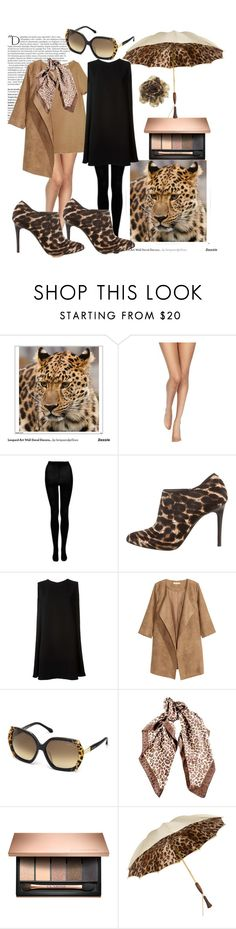 """""""L-leopard print"""" by alenanikol ❤ liked on Polyvore featuring Balmain, Wolford, STELLA McCARTNEY, Lanvin, McQ by Alexander McQueen, Roberto Cavalli, Persol and Nine West"""