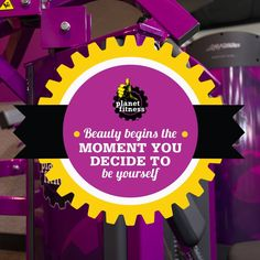 Beauty begins the moment you decide to be yourself. #MondayMotivation #PlanetFitness