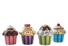 Set of 4 Assorted Cupcake Servers on OneKingsLane.com