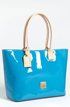 Dooney & Bourke 'Large' Patent Leather Shopper available at #Nordstrom    This bag calls my name!!