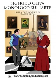 SIGFRIDO OLIVA - MONOLOGO SULL'ARTE - RONIN FILM PRODUCTION